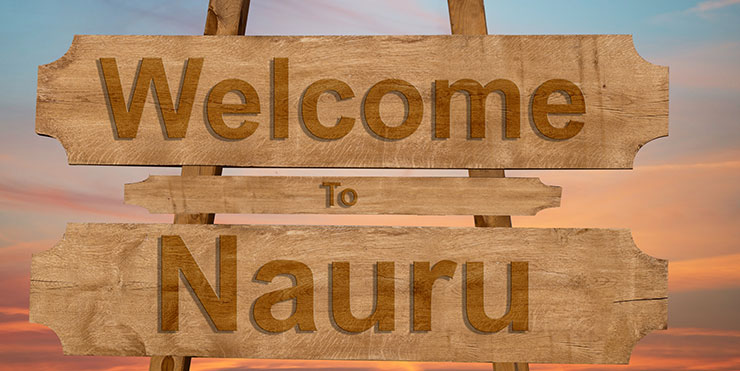 Welcome to Nauru